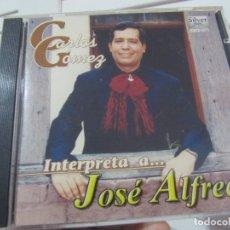 CDs de Música: CARLOS GOMEZ-INTERPRETA A JOSE ALFREDO-CD-RARO. Lote 179155788