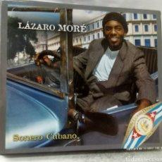 CDs de Música: LÁZARO MORÉ - SONERO CUBANO. ENVIDIA RECORDS. MÚSICA CUBANA.. Lote 179158536