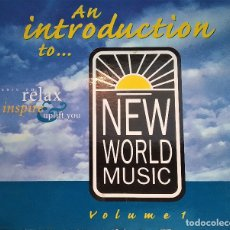 CDs de Música: CD VARIOUS- AN INTRODUCTION TO NEW WORLD MUSIC VOL.1, UK 1998, DIGIPACK, MUY BIEN (VG+_VG+). Lote 179161510