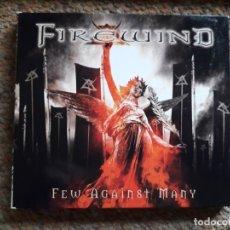 CDs de Música: FIREWIND , FEW AGAINST MANY , CD LIMITED EDITION 2012 , BUEN ESTADO . Lote 179169361