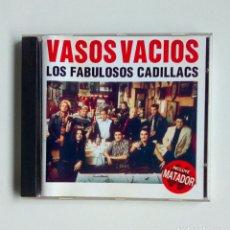 CDs de Música: LOS FABULOSOS CADILLACS - VASOS VACIOS, SONY, 1993. SPAIN.. Lote 179171152
