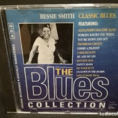 CDs de Música: CD - BESSIE SMITH - CLASSIC BLUES - THE BLUES COLLECTION Nº 9. Lote 179182220