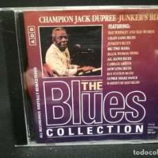 CDs de Música: CD - CHAMPION JACK DUPREE - JUNKER'S BLUES - THE BLUES COLLECTION Nº 59. Lote 179182606