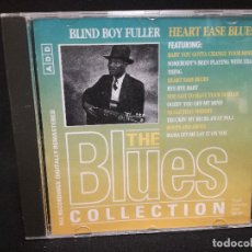 CDs de Música: CD - BLIND BOY FULLER - HEART EASE BLUES - THE BLUES COLLECTION Nº 55. Lote 179183011