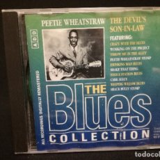 CDs de Música: CD - PEETIE WHEATSTRAW - THE DEVIL'S SON IN LAW - THE BLUES COLLECTION Nº 82. Lote 179183502