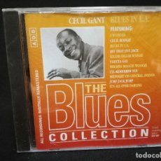 CDs de Música: CD - CECIL GANT - BLUES IN L.A. - THE BLUES COLLECTION Nº 88. Lote 179183680