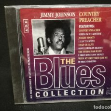 CDs de Música: CD - JIMMY JOHNSON - COUNTRY PREACHER - THE BLUES COLLECTION Nº 83. Lote 179183766