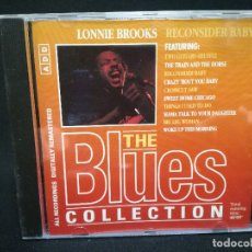CDs de Música: CD - LONNIE BROOKS - RECONSIDER BABY - THE BLUES COLLECTION Nº 40. Lote 179184818