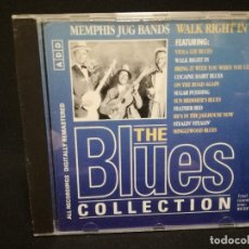 CDs de Música: CD - MEMPHIS JUG BANDS - WALK RIGHT IN - THE BLUES COLLECTION Nº 41. Lote 179184918