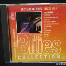 CDs de Música: CD - LUTHER ALLISON - RICH MAN - THE BLUES COLLECTION Nº 44. Lote 179185096