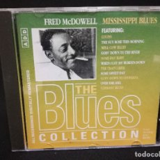 CDs de Música: CD - FRED MCDOWELL - MISSISSIPPI BLUES - THE BLUES COLLECTION Nº 45. Lote 179185273