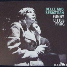 CDs de Música: BELLE AND SEBASTIAN - FUNNY LITTLE FROG - CD 3 TEMAS - ROUGH TRADE, 2005 - DIGIPACK -. Lote 179190742