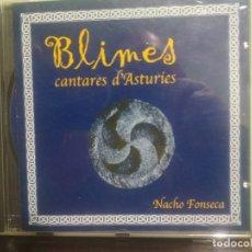 CDs de Música: CD FONO ASTUR NACHO FONSECA BLIMES CANTARES D ASTURIES ASTURIAS . Lote 179194122