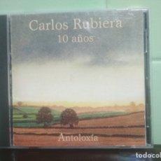 CDs de Música: CD ALBUM CARLOS RUBIERA 10 AÑOS ANTOLOXIA ASTURIAS. Lote 179194505