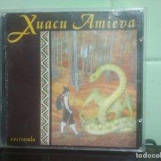 CDs de Música: CD XUACU AMIEVA / XOSTRANDO / FONOASTUR - 1989 ASTURIAS. Lote 179195970