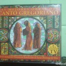 CDs de Música: DOBLE CD LAS MEJORES OBRAS DEL CANTO GREGORIANO - CORO DE MONASTERIO SANTO DOMINGO DE SILOS. Lote 179197116