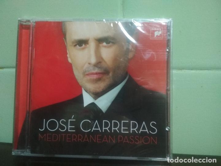 JOSÉ CARRERAS - MEDITERRANEAN PASSION - CD ALBUM - 15 TRACKS SONY CLASSICAL 2008. PRECINTADO PEPETO (Música - CD's Clásica, Ópera, Zarzuela y Marchas)