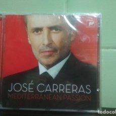 CDs de Música: JOSÉ CARRERAS - MEDITERRANEAN PASSION - CD ALBUM - 15 TRACKS SONY CLASSICAL 2008. PRECINTADO PEPETO. Lote 179197760
