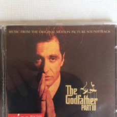 CDs de Música: CDS DE MÚSICA: VARIOUS - THE GODFATHER PART III (MUSIC FROM THE ORIGINAL MOTION PICTURE SOUNDTRACK). Lote 179198180