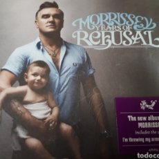CDs de Música: MORRISSEY YEARS OF REFUSAL. Lote 179202027