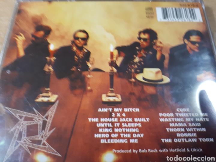CDs de Música: METALLICA LOAD - Foto 2 - 179202712