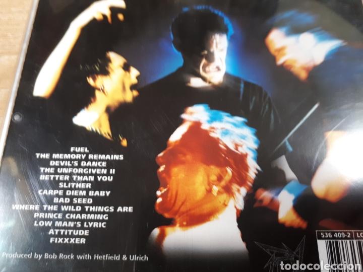 CDs de Música: METALLICA RELOAD - Foto 2 - 179203002