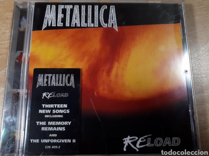 METALLICA RELOAD (Música - CD's Rock)