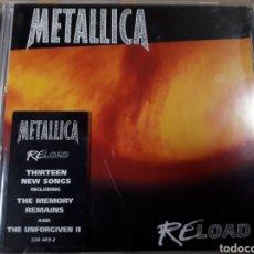 CDs de Música: METALLICA RELOAD. Lote 179203002