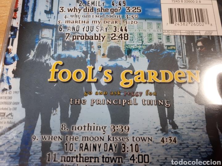 CDs de Música: FOOLS GARDEN THE PRINCIPAL THING - Foto 2 - 179203680