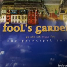 CDs de Música: FOOLS GARDEN THE PRINCIPAL THING. Lote 179203680
