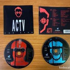 CDs de Música: ACTV FOR EVER // ACTV EN DIRECTO 3. Lote 179208120