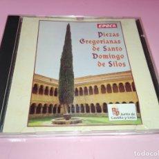 CDs de Música: CD-PIEZAS GREGORIANAS-DE SANTO DOMINGO DE SILOS-BUEN ESTADO-ÉPOCA-JUNTA DE CASTILLA Y LEÓN-VER FOTOS. Lote 179209731