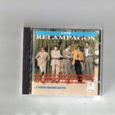 CDs de Musique: CD - LOS RELAMPAGOS Y OTROS GRANDES EXITOS - MBE. Lote 179213587