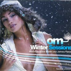 CDs de Música: JUSTIN MARTIN Y JOHNNY FIASCO - OM WINTER SESSIONS. DOBLE CD. OM RECORDS. Lote 179216757