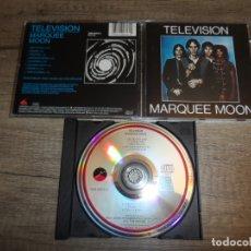 CDs de Música: TELEVISION - MARQUEE MOON. Lote 195387802