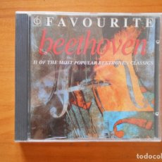 CDs de Música: CD FAVOURITE BEETHOVEN (Q3). Lote 179222170
