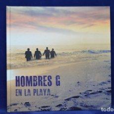 CDs de Música: HOMBRES G - EN LA PLAYA - CD LIBRO + DVD . Lote 179222566