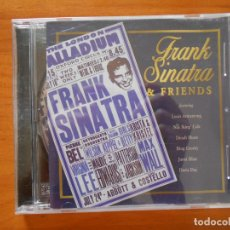 CDs de Música: CD FRANK SINATRA & FRIENDS - LOUIS ARMSTRONG, NAT KING COLE, DINAH SHORE, BING CROSBY... (N4). Lote 179225355