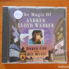 CDs de Música: CD THE MAGIC OF ANDREW LLOYD WEBBER - DEREK COX AND HIS MUSIC (Y5). Lote 179231935