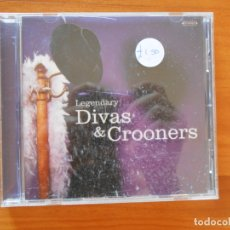 CDs de Música: CD LEGENDARY DIVAS & CROONERS - SAMMY DAVIS JNR, NINA SIMONE, TONY BENNETT, PEGGY LEE... (Y5). Lote 179232302