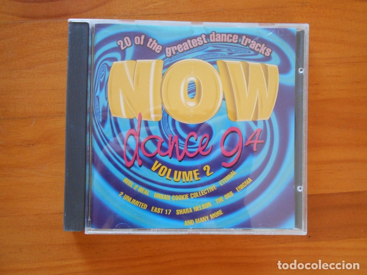 CD NOW DANCE 94 VOLUME 2 (V5) (Música - CD's Disco y Dance)