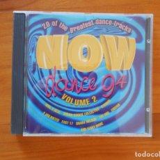 CDs de Música: CD NOW DANCE 94 VOLUME 2 (V5). Lote 179232631