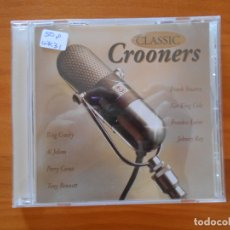 CDs de Música: CD CLASSIC CROONERS - FRANK SINATRA, NAT KING COLE, FRANKIE LAINE, JOHNNY RAY... (Z5). Lote 179234067