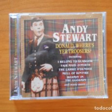 CDs de Música: CD ANDY STEWART - DONALD, WHERE'S YER TROOSERS? (Z5). Lote 179234168