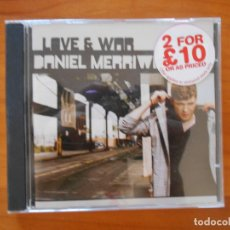 CDs de Música: CD DANIEL MERRIWEATHER - LOVE & WAR (FM). Lote 179239630