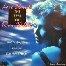 CDs de Música: CD KIM WILDE - LOVE BLONDE ,THE BEST OF KIM WILDE, EU 1993 MUY BUEN ESTADO (EX_EX). Lote 179243485