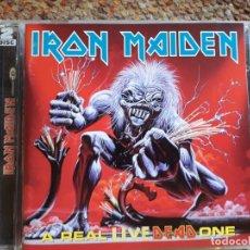 CDs de Música: IRON MAIDEN , A REAL LIVE DEAD ONE , 2XCD ESTADO IMPECABLE . Lote 179248626