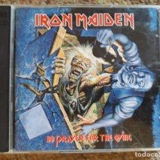 CDs de Música: IRON MAIDEN , NO PRAYER FOR THE DYING , 2XCD EDICION LIMITADA USA BUEN ESTADO . Lote 179249045
