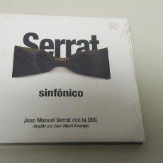 CDs de Música: JJ10- SERRAT SINFONICO CD NUEVO PRECINTADO LIQUIDACION!!! N2. Lote 179254620