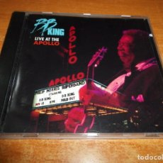 CDs de Música: BB KING LIVE AT THE APOLLO CD ALBUM AÑO 1991 ALEMANIA 10 TEMAS U2 BONO B.B. KING RARO DESCATALOGADO. Lote 179263055